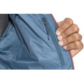 Icebreaker Hyperia Hooded Jacket Men Granite Blue/Prussian Blue